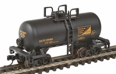 Atlas Trainman Trainman(R) 28' ''Beer Can'' Shorty Tank Car -- Tennessee Eastman Kodak (GATX) #93494 - N-Scale