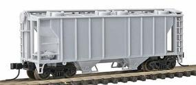 Trainman Trainman(R) PS-2 2-Bay Covered Hopper Undecorated N Scale Model Train Freight Car #3150
