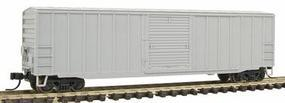 Trainman ACF(R) 50 6 Boxcar Undecorated N Scale Model Train Freight Car #39930