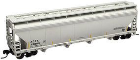 Trainman 4-Bay Covered Hopper Lifeline Foods #39003 N Scale Model Train Freight Car #50000648