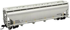 Trainman 4-Bay Covered Hopper Lifeline Foods #39009 N Scale Model Train Freight Car #50000649