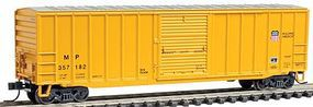 Trainman 506 Boxcar Union Pacific/MP #357182 N Scale Model Train Freight Car #50000693