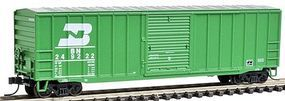 Trainman 50'6'' Boxcar Burlington Northern #249222 N Scale Model Train Freight Car #50000767