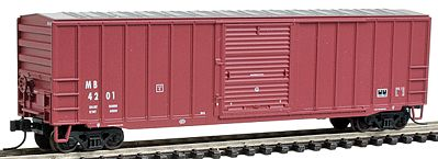 Atlas Trainman 50'6'' Boxcar Meridian & Bigbee/M&B Railroad -- N Scale Model Train Freight Car -- #50000770