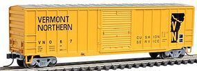 Trainman ACF(R) 506 Boxcar Vermont Northern #367 N Scale Model Train Freight Car #50000772