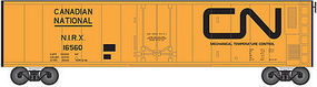 Trainman 50 Mechanical Reefer Canadian National #16536 N Scale Model Train Freight Car #50001168