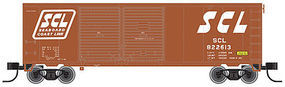 Trainman 40 Double Door Boxcar Seaboard Coast Line #822613 N Scale Model Train Freight Car #50001282