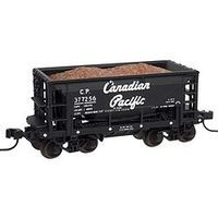 Trainman 70 Ton Ore Car Canadian Pacific #377220 (black) N Scale Model Train Freight Car #50001607