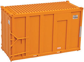 Trainman 20 High Cube Trash Container 4-Pack DSEU Set #6 N Scale Model Train Freight Car #50001687