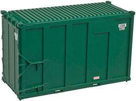 Trainman 20 High Cube Trash Container 4-Pack USWX Set #5 N Scale Model Train Freight Car #50001688