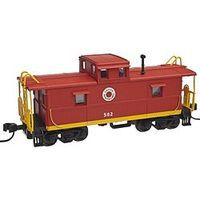 Trainman C&O-Style Steel Cupola Caboose Lehigh & New England N Scale Model Train Freight Car #50001780
