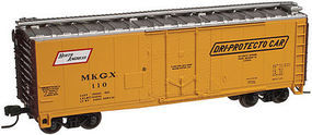 Trainman 40 Plug-Door Boxcar North American Car Company #104 N Scale Model Train Freight Car #50001809