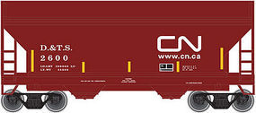 Trainman 2-Bay Centerflow Hopper Canadian National #2600 N Scale Model Train Freight Car #50001867