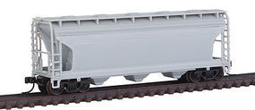 Trainman 3560 Covered Hopper Undecorated N Scale Model Train Freight Car #50001882