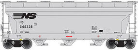 Trainman ACF 3560 Center-Flow Covered Hopper Norfolk Southern N Scale Model Train Freight Car #50001892