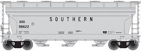 Trainman ACF 3560 Center-Flow Covered Hopper Southern Railway N Scale Model Train Freight Car #50001893