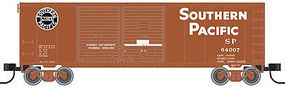 Trainman 40 Double-Door Boxcar Southern Pacific #64007 N Scale Model Train Freight Car #50001927