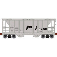 Trainman PS-2 Covered Hopper Ann Arbor #581 N Scale Model Train Freight Car #50002104