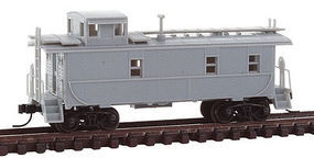 Trainman Cupola Caboose Undecorated N Scale Model Train Freight Car #50002124