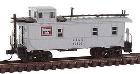 Trainman Cupola Caboose CB&Q #13503 N Scale Model Train Freight Car #50002125