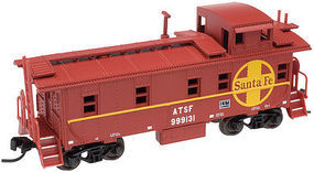 Trainman Cupola Caboose ATSF 99919 N Scale Model Train Freight Car #50002130