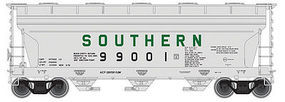 Trainman 3560 Covered Hopper Southern #99001 N Scale Model Train Freight Car #50002282