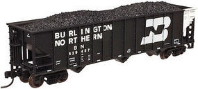 Trainman 90 Ton Hopper Burlington Northern #527790 N Scale Model Train Freight Car #50002371