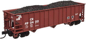 Trainman 90 Ton Hopper Conrail #490442 N Scale Model Train Freight Car #50002374