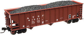 Trainman 90 Ton Hopper ATSF #81063 N Scale Model Train Freight Car #50002381