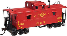Trainman C&O Caboose Union RR #C-25 N Scale Model Train Freight Car #50002597