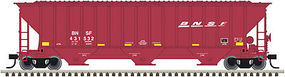 Trainman Thrall Covered Hopper BNSF #431355 N Scale Model Train Freight Car #50002804