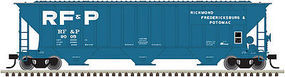 Trainman Thrall 4750 Covered Hopper RF&P #9005 N Scale Model Train Freight Car #50002824