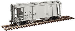 Trainman PS-2 Covered Hopper New York Central #883188 N Scale Model Train Freight Car #50002893