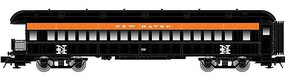 Trainman ACF Heavyweight 60' Observation Ready to Run New Haven #2092 (black, orange, white) N-Scale