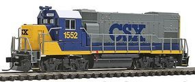 Trainman GP15-1 Loco CSX #1552 - N-Scale