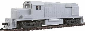 Trainman ALCO RS-36 Powered - Undecorated HO Scale Model Train Diesel Locomotive #8381