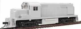 Trainman ALCO RS-36, Powered - Undecorated HO Scale Model Train Diesel Locomotive #8391
