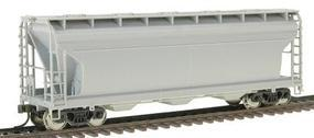 Trainman ACF(R) 3560 Centerflow Covered Hopper Undecorated HO Scale Model Train Freight Car #936