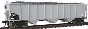 Trainman AAR 70-Ton 3-Bay Open Hopper Undecorated HO Scale Model Train Freight Car #990
