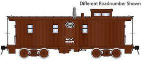 TrueLine Caboose NYC Gothic #19400 - HO-Scale