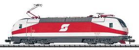 Trix Minitrix Electric Class 1012 - Standard DC Austrian Federal Railways OBB #1012.003 (Era V Rolling Road, red, white) - N-Scale