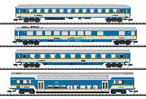 Trix Passenger 4-Car Set ALEX - N-Scale