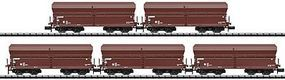 Trix Coal Hopper 5-Car Set DB - N-Scale