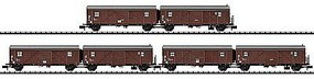 Trix DB Stuckgut Boxcar Set - N-Scale