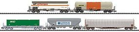 Trix SNCF Freight 5-Car Set - N-Scale
