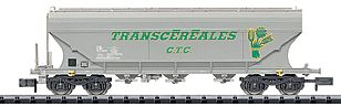 Trix Grain Hopper Set 5/ SNCF - N-Scale