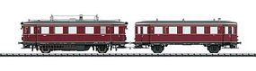 Trix Dgtl DB Railcar w/Trailer HO-Scale