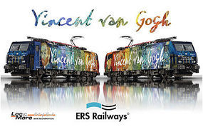 Trix Digital ES 64 F4-206 Electric Locomotive Vincent van Gogh 125th Anniversary