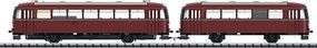 Trix Rail Bus w/Trailer Car DB HO-Scale