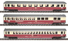 Trix IC Exp Pass Set #1 3/ DB - HO-Scale